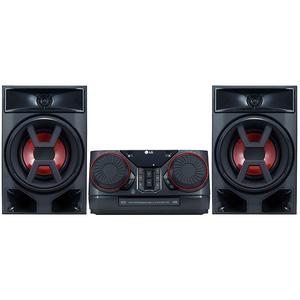 Minisistem audio LG XBOOM CK43, 300W, Bluetooth, USB, CD, Radio FM, negru
