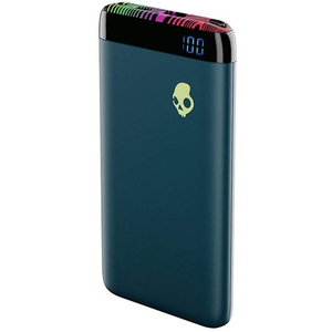 Baterie externa SKULLCANDY Stash Psycho Tropical S7PBZ-L638, 6000mAh, 1xUSB, Type C, albastru
