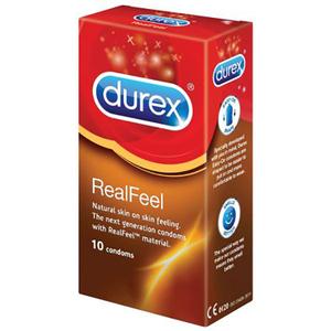 Prezervativ DUREX Real Feel, 10buc