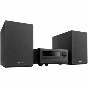 Minisistem DENON DT1BKE2, CD player, Bluetooth, FM, negru
