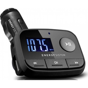 Modulator FM ENERGY SISTEM CAR MP3 F2, SD, USB, negru