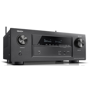 Receiver DENON AVR-X3400H, Dolby Vision, Dolby Atmos, WLAN, Bluetooth, negru