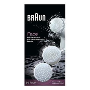 Rezerva perie curatare faciala BRAUN SE89 pentru BRAUN SE329&7929, 2 bucati