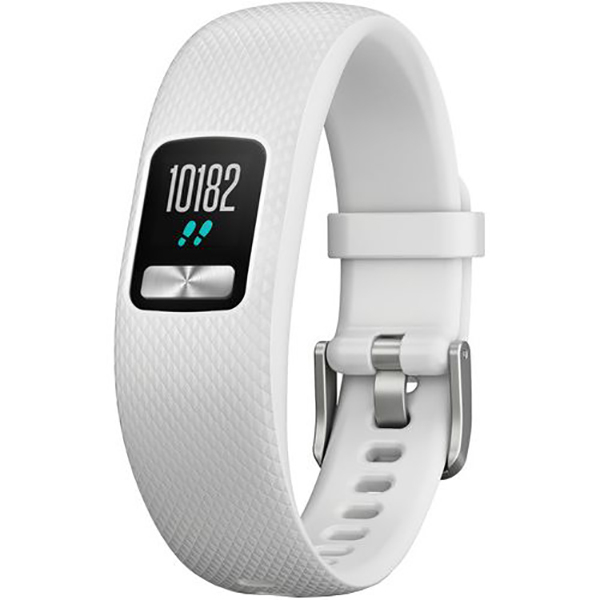 Bratara fitness GARMIN Vivofit 4, Android/iOS, Small/Medium, Alb