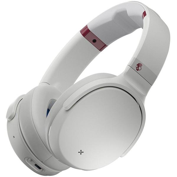 Casti SKULLCANDY Venue S6HCW-L568 Vice Gray Crimson, Bluetooth, Over-Ear, Microfon, Noise Cancelling, gri