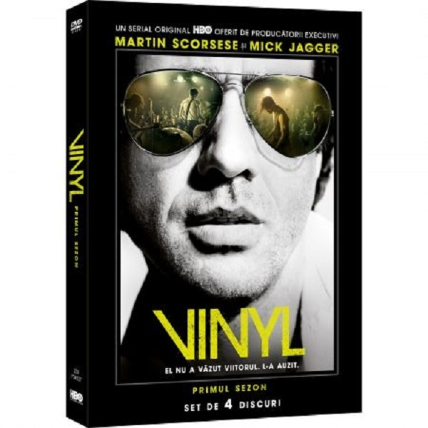 Vinyl Sezonul 1 DVD