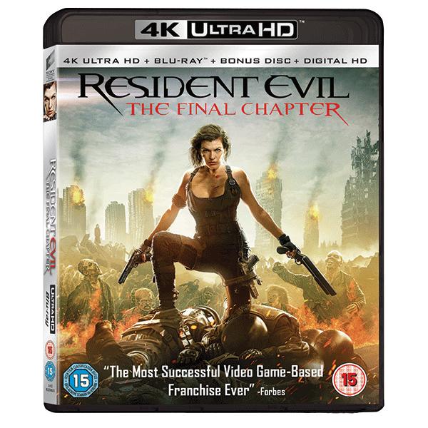 Resident Evil: Capitolul final 4K UHD