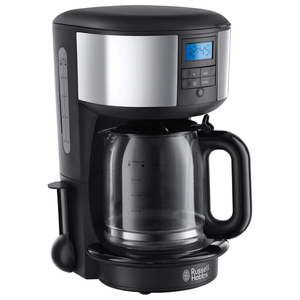 Cafetiera RUSSELL HOBBS Chester 20150-56, 1.25l, 1000W, negru - inox