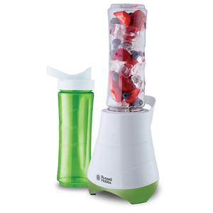 Mini blender RUSSELL HOBBS Mix & Go 21350-56, 0.6l, 1 viteza, 300W, alb - verde