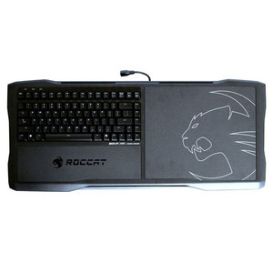 Tastatura Gaming ROCCAT Lapboard Sova, USB, Layout US, negru