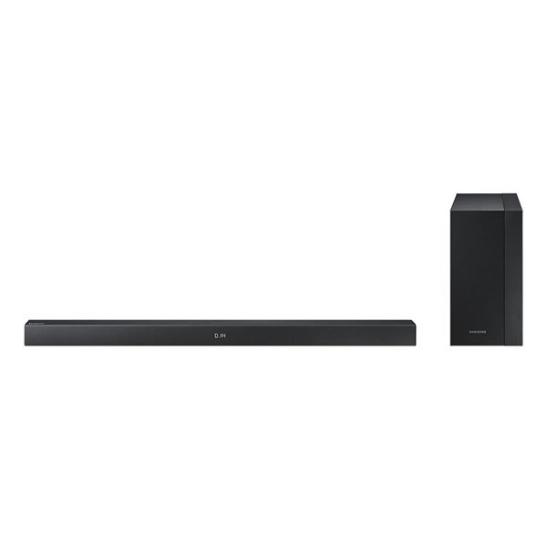 Soundbar 2.1 SAMSUNG HW-M360, 200W, subwoofer wireless, Bluetooth, USB, negru