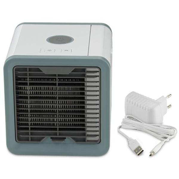 Ventilator portabil cu apa DELIMANO Arctic Cooler Rovus 110001523, 3 trepte de viteza, 350W