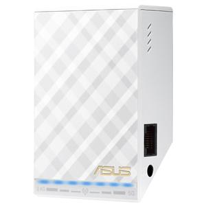 Wireless Range Extender ASUS RP-AC52, 300 + 433 Mbps, alb