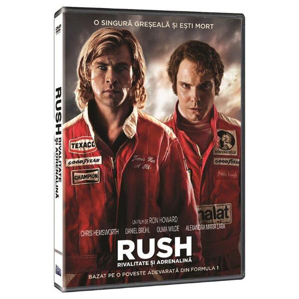 Rush - Rivalitate si Adrenalina DVD