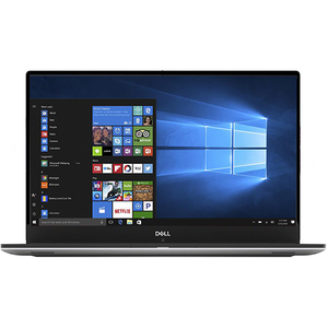 "Laptop DELL XPS 9570, Intel Core i5-8300H pana la 4.0GHz, 15.6"" Full HD IPS, 8GB, HDD 1TB + SSD 128GB, NVIDIA GeForce GTX 1050 4GB, Windows 10 Pro, Silver"