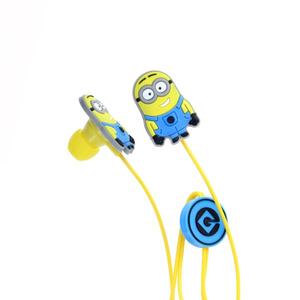 Casti Dave Minions 139344, Cu Fir, In-Ear, albastru/galben