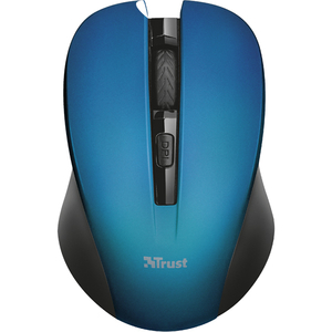 Mouse Wireless TRUST SILENT Mydo, 1800 dpi, albastru