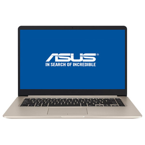 "Laptop ASUS VivoBook S510UF-BQ049, Intel® Core™ i5-8250U pana la 3.4GHz, 15.6"" Full HD, 8GB, SSD 256GB, NVIDIA GeForce MX130 2GB, Endless"