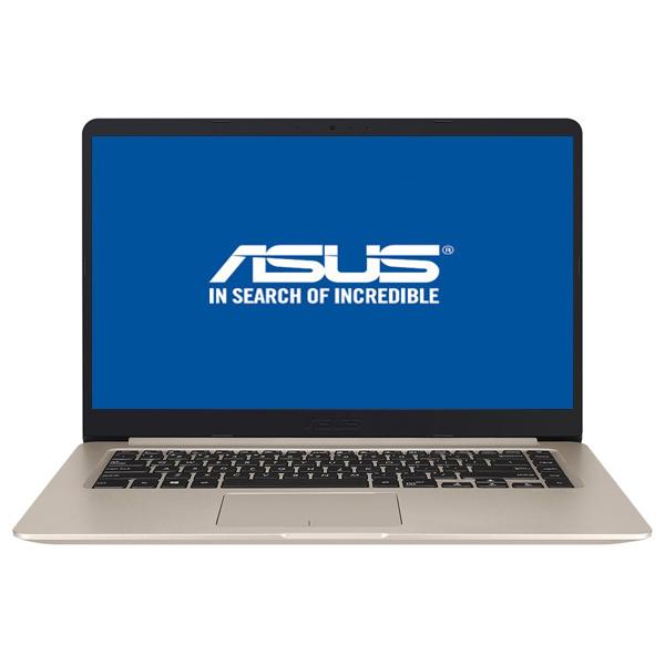 "Laptop ASUS VivoBook S510UA-BQ428, Intel® Core™ i5-8250U pana la 3.4GHz, 15.6"" Full HD, 8GB, 1TB, Intel UHD Graphics 620, Endless"