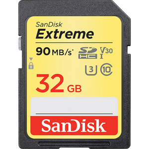 Card de memorie SDHC Extreme 32GB SANDISK 90MB/S