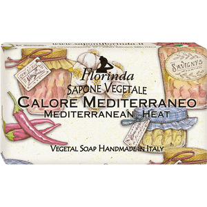 Sapun vegetal LA DISPENSA Florinda Mediterranean Heat, 100g