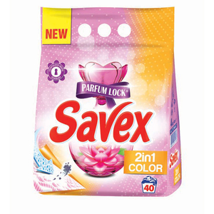 Detergent pudra SAVEX Powerzyme 2in1 Color, 4kg