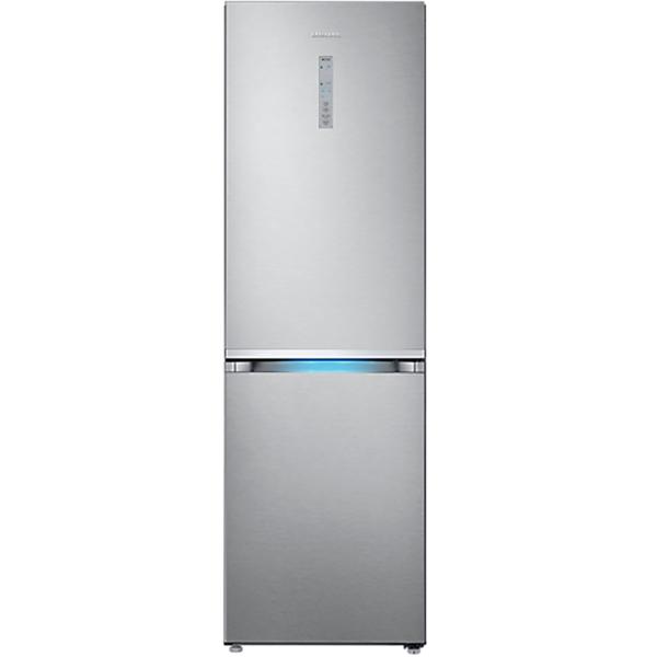 Combina frigorifica SAMSUNG RB38J7805SA, No Frost 384 l, H 192.7 cm, Clasa A++, All-Around Cooling, argintiu