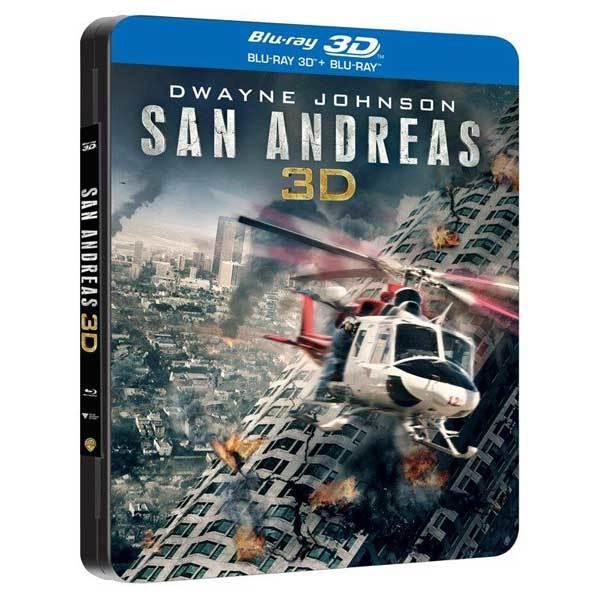 Dezastrul din San Andreas Blu-ray 3D Futurepack
