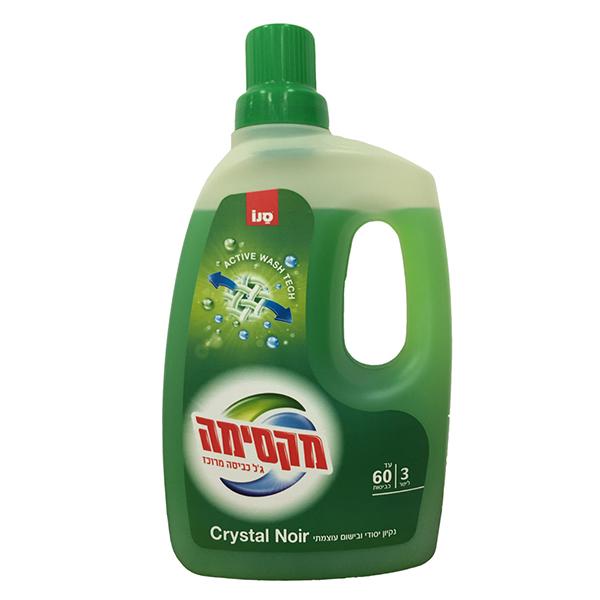 Detergent gel SANO Maxima Crystal Noir, 3l