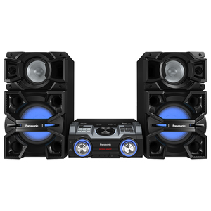 Sistem audio PANASONIC SC-MAX4000EK, 2400W, USB, Bluetooth, Iluminare LED