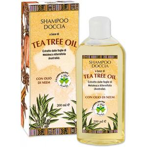 Sampon si gel de dus La Dispensa Tea Tree Oil, pentru toate tipurile de par, 200ml