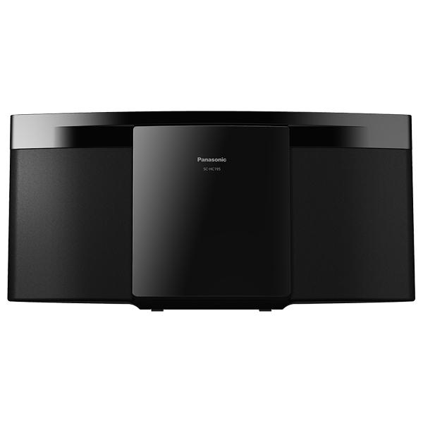 Microsistem PANASONIC SC-HC195EG-K, 20W. FM, USB, negru