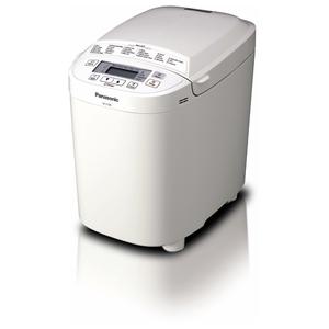 Masina de copt paine PANASONIC SD-2500WXE, 1.2kg, 15 programe coacere, alb
