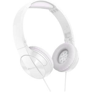Casti PIONEER SE-MJ503-W, Cu Fir, On-Ear, alb