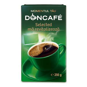 Cafea macinata DONCAFE Selected 300156, 250gr