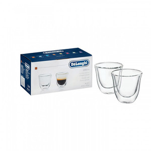 Set 2 pahare DELONGHI Espresso DIVESPRESSO, 60ml