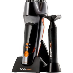 Trimmer BABYLISS Beard Designer+ Precision SH500E, 40 min autonomie, negru-portocaliu