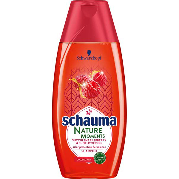 Sampon SCHAUMA Nature Raspberry, 250ml