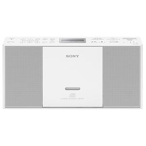 Sistem audio SONY ZS-PE60W, CD, FM, alb