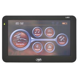 """Sistem de navigatie GPS PNI L805, 5"""", 8GB memorie interna, Bluetooth"""