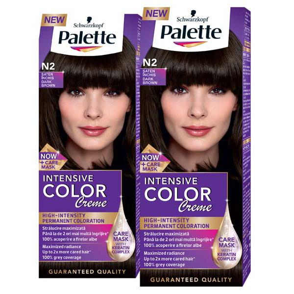 Pachet Promo Vopsea De Par Palette Intensive Color Creme N2 Saten