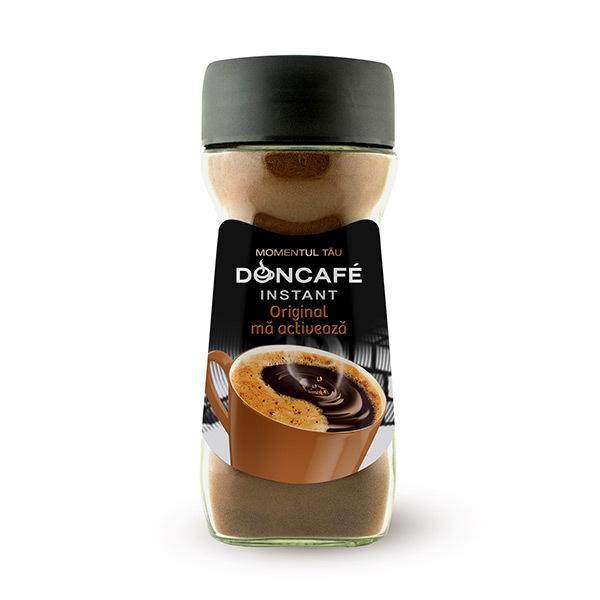 Cafea instant DONCAFE Original, 190gr