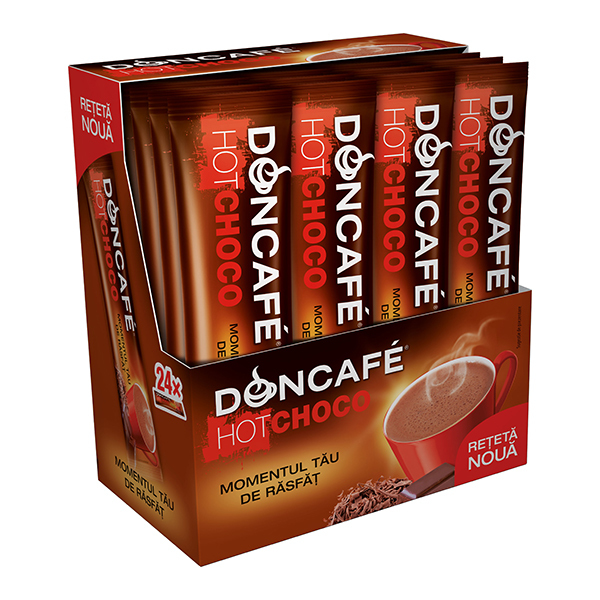 Cafea instant DONCAFE Mixes Hot Choco, 18gr
