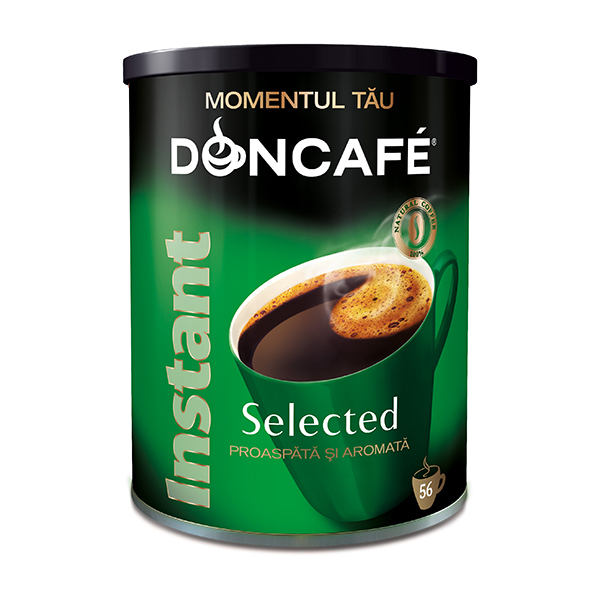 Cafea instant DONCAFE Selected, 100gr