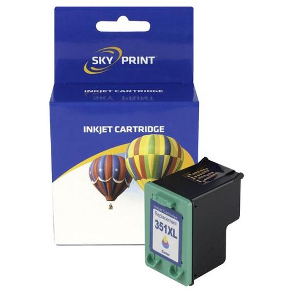 Cartus SKYPRINT SKY-HP 351XL-NEW, tricolor