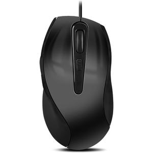 Mouse cu fir AXON, 2400 dpi, gri