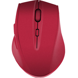 Mouse Wireless CALADO Silent, 1600 dpi, rosu