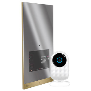 Kit ALLVIEW Siebo Smart Mirror 2 + Smart Cam, alb
