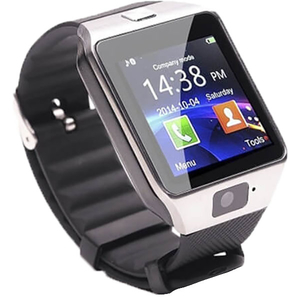 Smartwatch E-BODA Smart Time 200, Android/iOS, silicon, argintiu