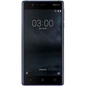 Telefon NOKIA 3, 16GB, 2GB RAM, dual sim, Tempered Blue